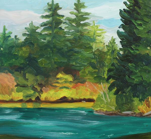 Cheryl French - Clear Lake Fall