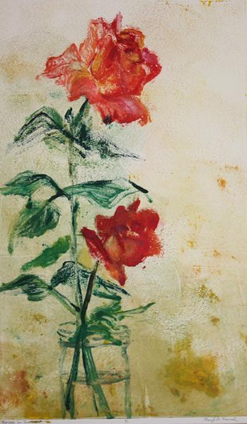 Cheryl French - Roses in Sunlight