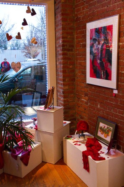 Red Theme at Gallery Calapooia