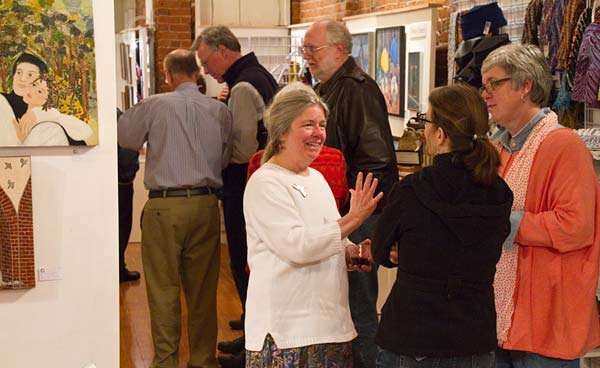 The Valentine Reception at Gallery Calapooia