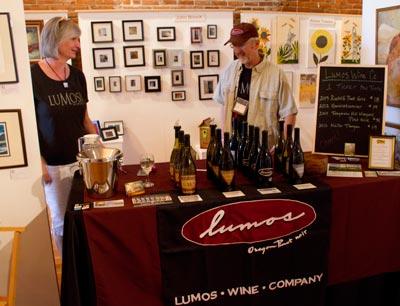 Wine Walk - Lumos at Gallery Calapooia