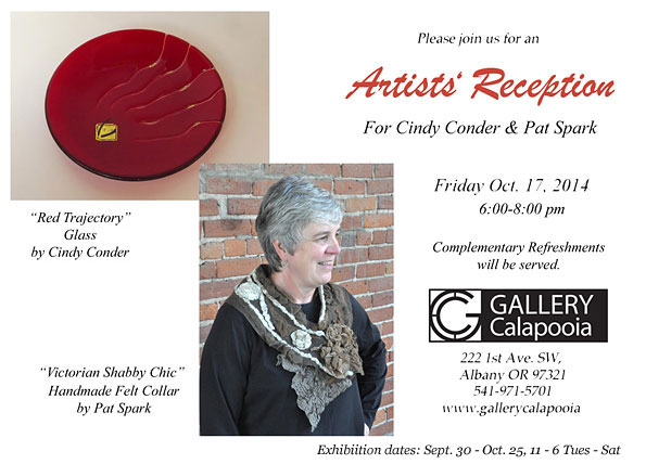 Gallery Calapooia October Reception