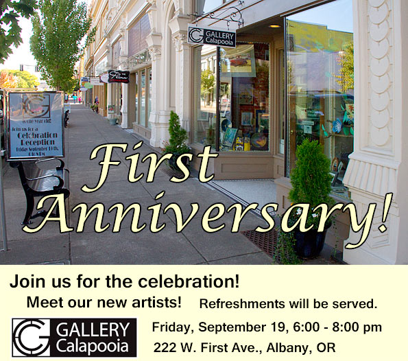 Gallery Calapooia First Anniversary