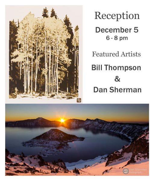December reception - Bill Thompson & Dan Sherman