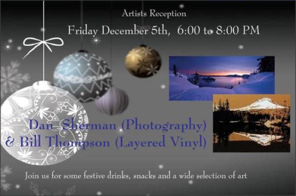 Gallery Calapooia December Reception
