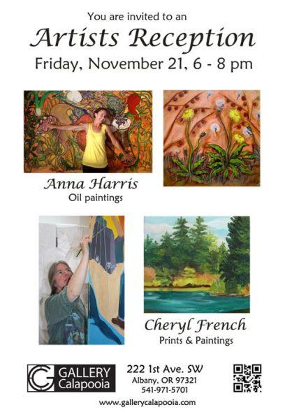 Gallery Calapooia November Reception