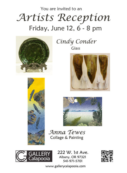 Gallery Calapooia June Reception