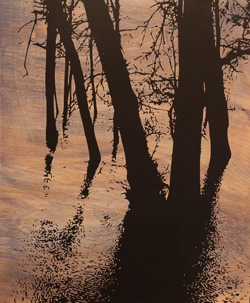 River in Flood - Bill Thompson