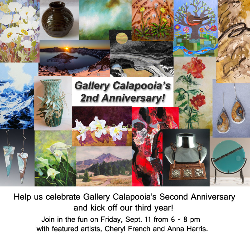Gallery Calapooia 2nd Anniversary