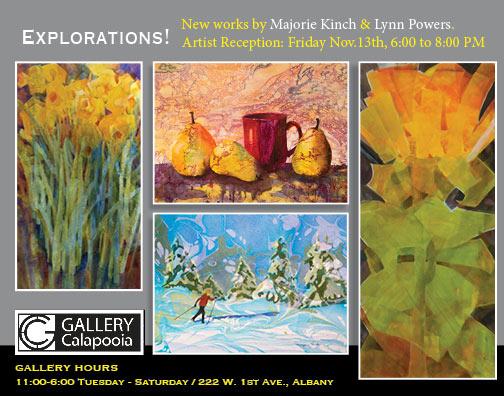 Explorations - Lynn Powers & Marjorie Kinch