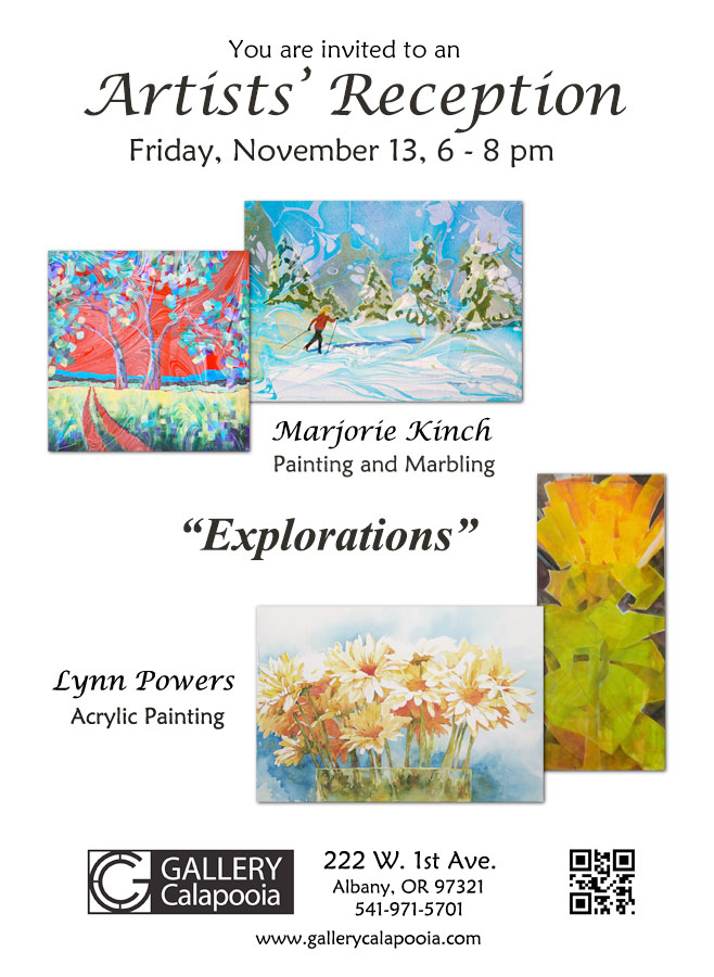 Gallery Calapooia November Reception