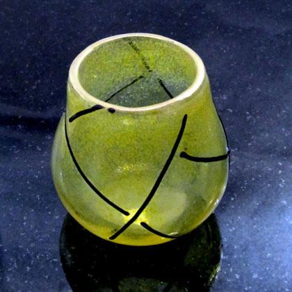 Lauren Wingert Threaded Glass