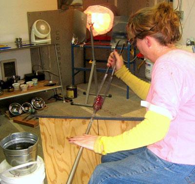 Lauren Wingert, Glass Artist
