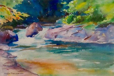 """McDowell Creek"" by Sharon Poppleton"