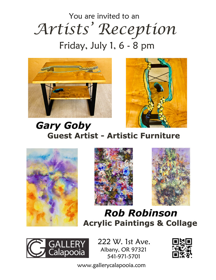 July Reception - Gallery Calapooia
