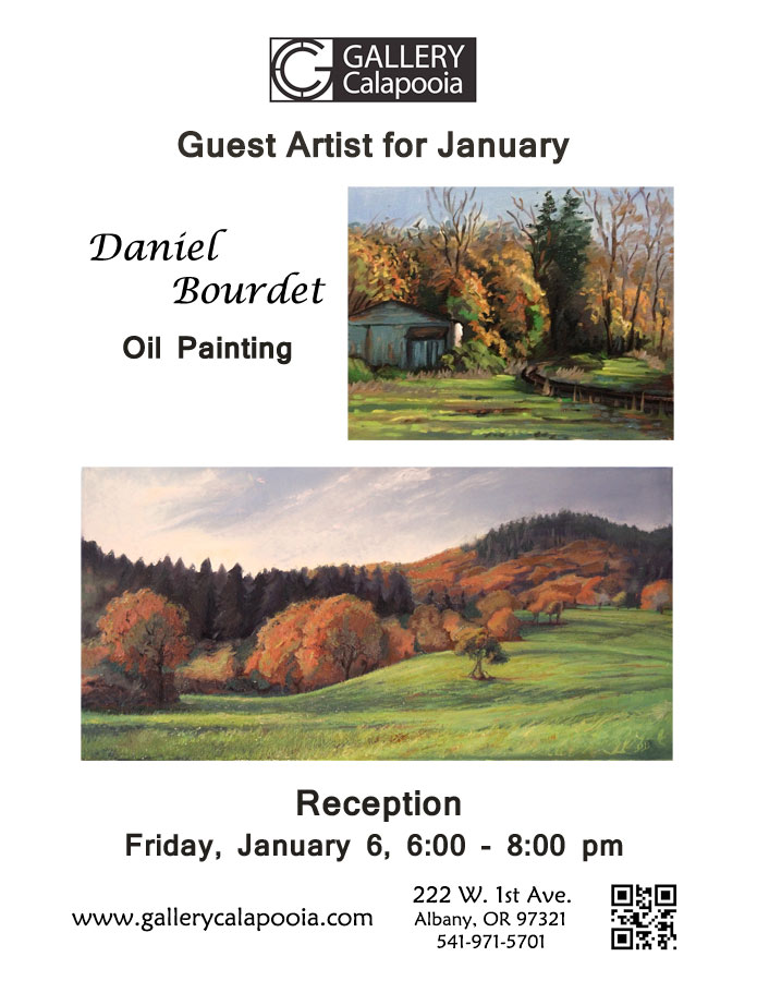 Gallery Calapooia January Reception - Jan. 7