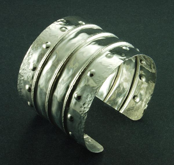 Fine Silver Cuff - Linda J. Herd
