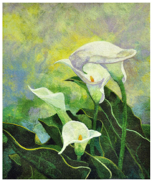 Calla Lily Group 1 - Pat Stark