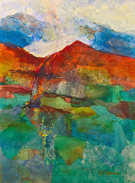 Red Mountain, Green Valley - Rob R Robinson