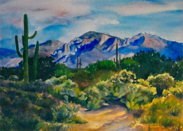 Santa Catalina Mountains - Sharon Poppleton