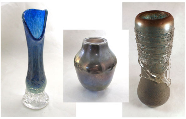 Glass Vases by Lauren Wingert