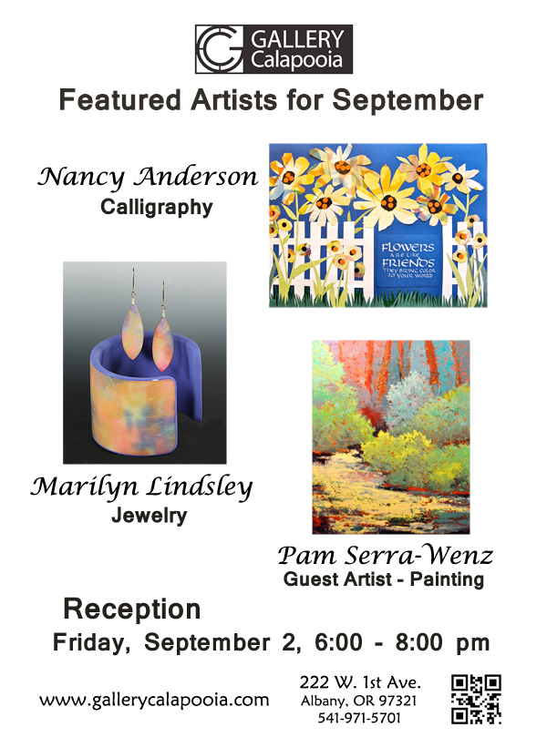 Gallery Calapooia September Reception