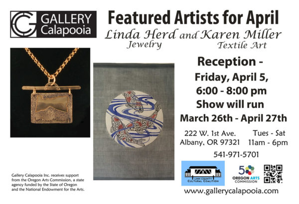 Gallery Calapooia April Reception