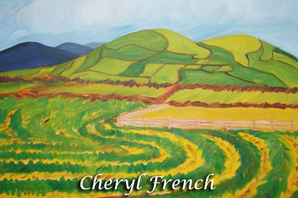 """Cheryl French - """"Irish Hay Harvest"""""""