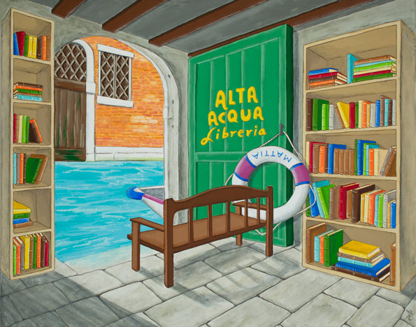 """Alta Aqua Libreria"" by Mary Ridler"