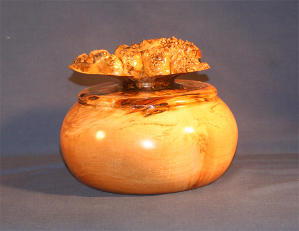 Burl Vase by J.J. Jones